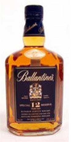 Ballantine Scotch Gold Seal 12 Year 86@
